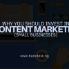 Content MARKETING BENEFITS-KINGSLEY MBADUGHA