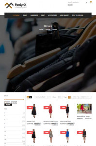 Feelynx Ecommerce Website